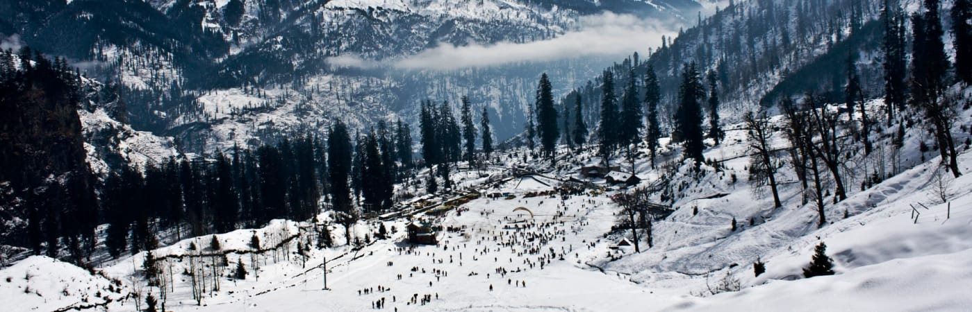 Mystic Kullu Manali By Volvo and Taxi